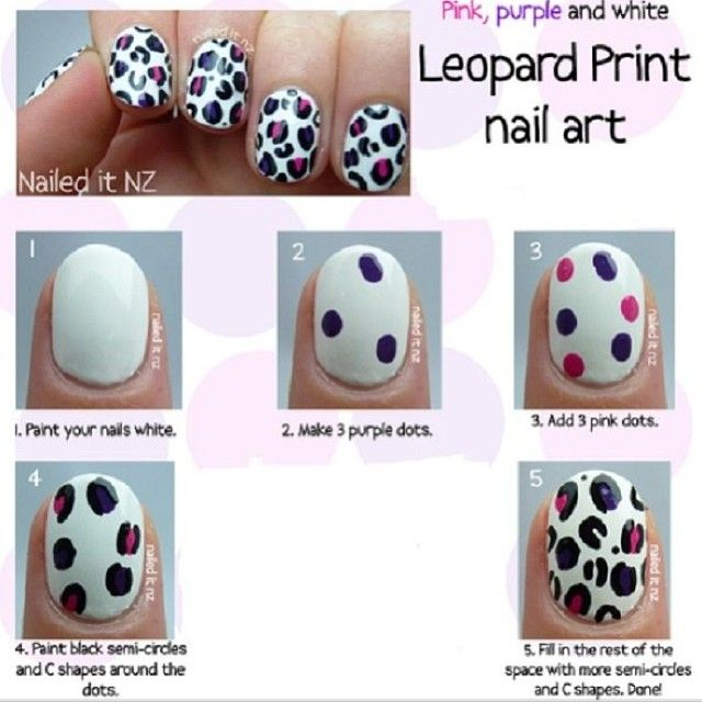 Pin by 👑Queen C👑 on Nails | Pinterest | Leopard print nails