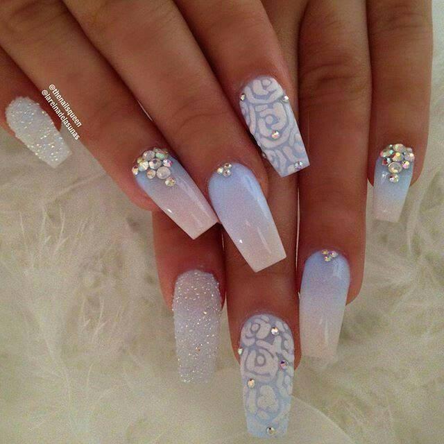 Super Easy Nail Art Designs 2017 Cute Acrylic Nails Diamond Nails Diamond Nail Art