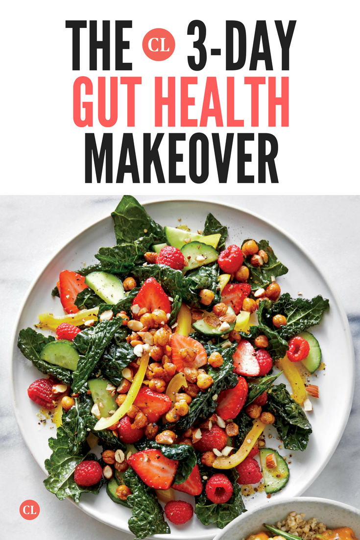 Reboot Your Microbiome With Our 3 Day Gut Health Makeover Healthy Gut Recipes Microbiome Diet Recipes Gut Health Recipes