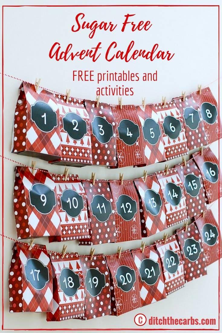 Sugar free advent calendar free printables gifts and activity sugar free advent calendar free printables gifts and activity guide negle Gallery
