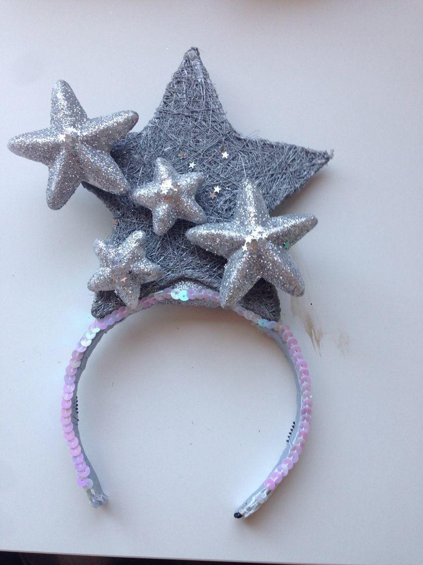 Tocado para disfraz de estrella disfraces ni as - Disfraces infantiles navidad ...