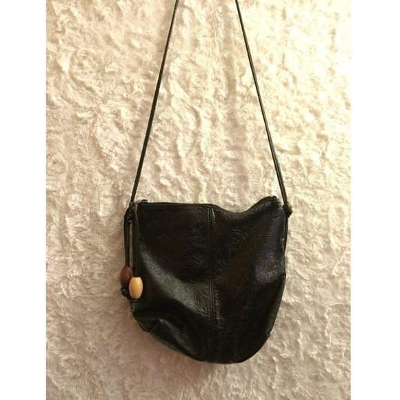 shoulder bag black pleather shoulder bag. awesome condition! TAGGED UO FOR VISIB ONLY Urban Outfitters Bags