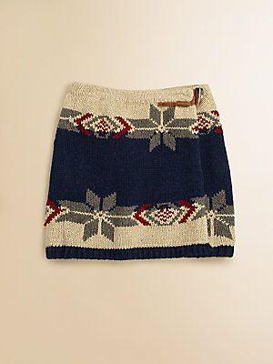 Ralph Lauren Girl's Fair Isle Skirt | kay fashion | Pinterest ...
