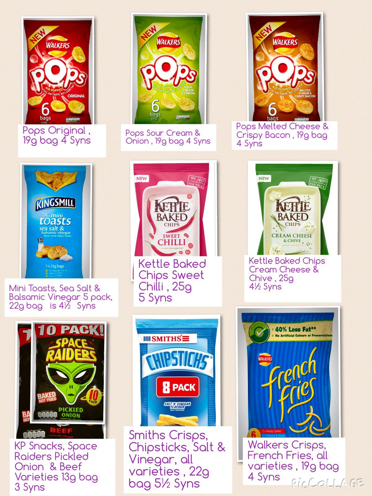 Snack Attack Slimming World Syn Food Misc Pinterest