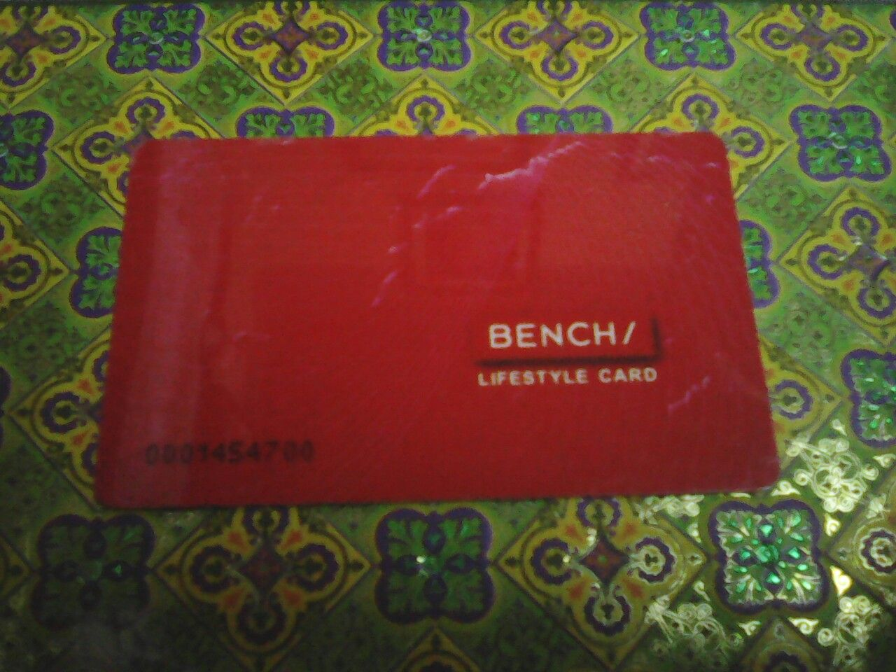 Bench Lifestyle Card.