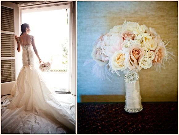 Christina + Zachary | Ines Di Santo Wedding from True Photography | PreOwned Wedding Dresses