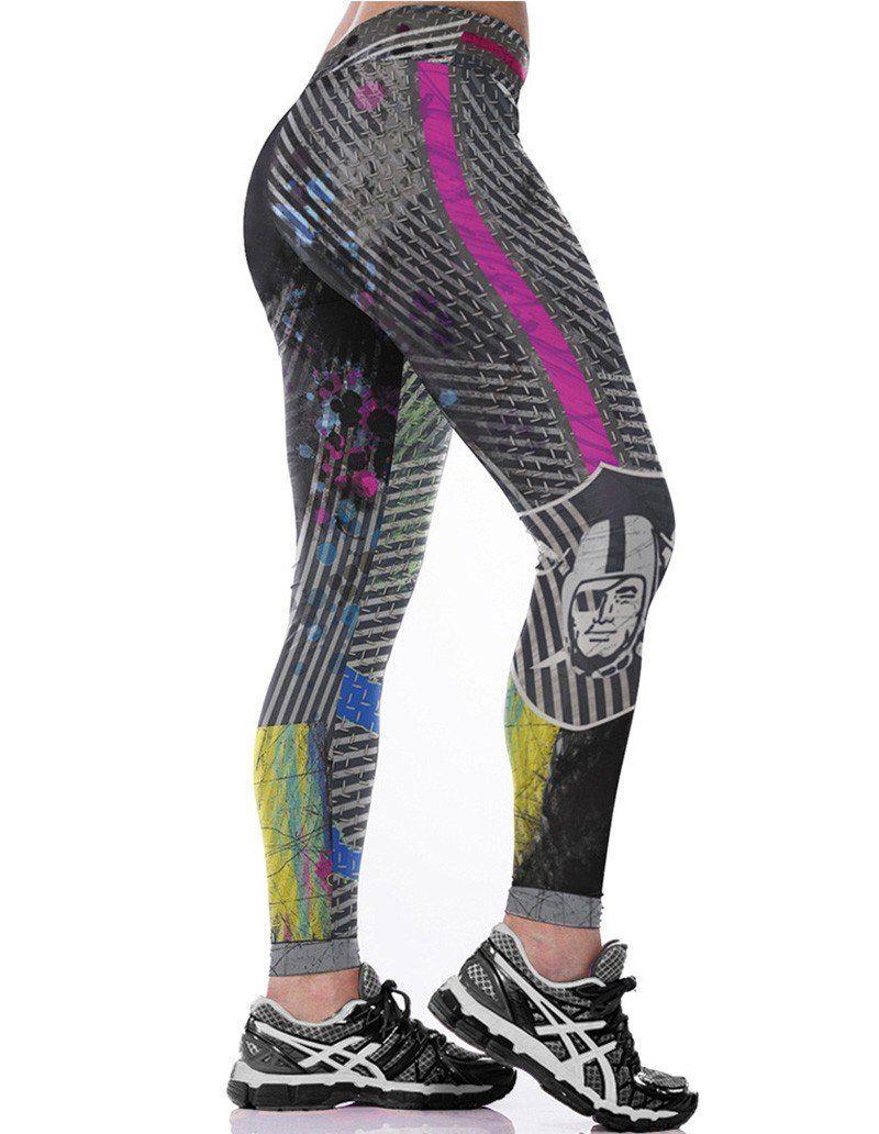 1bb767d28f Striped Pirate Print Fitness Running Yoga Tights Leggings | Sporting ...