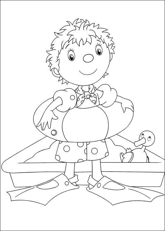 Dibujos para Colorear Noddy 59 | Dibujos para colorear para niños ...