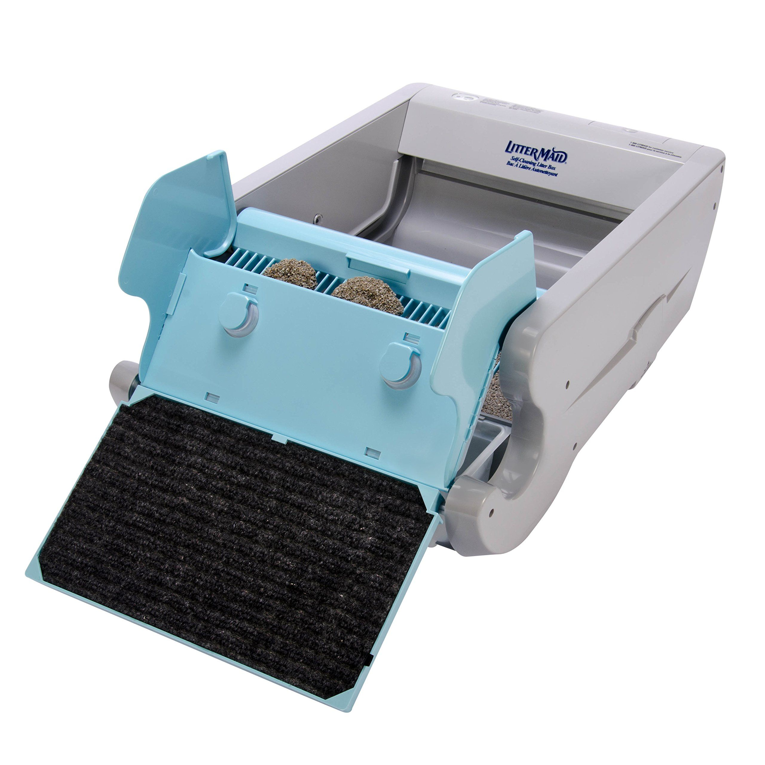 Littermaid Lm680c Automatic Selfcleaning Classic Litter Box Lm680c More Info Could Be F Self Cleaning Litter Box Cleaning Kitty Litter Automatic Cat Litter