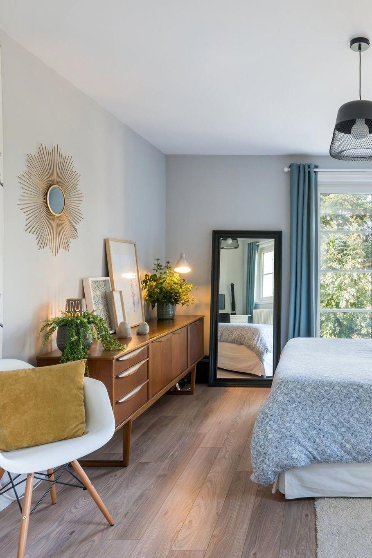 Lu0027enfilade Parfaite Pour Une Chambre Parentale à Lu0027esprit Vintage  #HabitacionesMatrimonialesDecoracionDe
