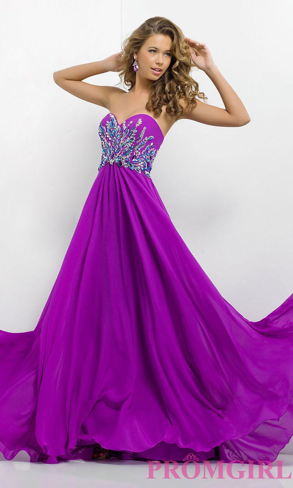 Long prom dress style bl front image dresses pinterest