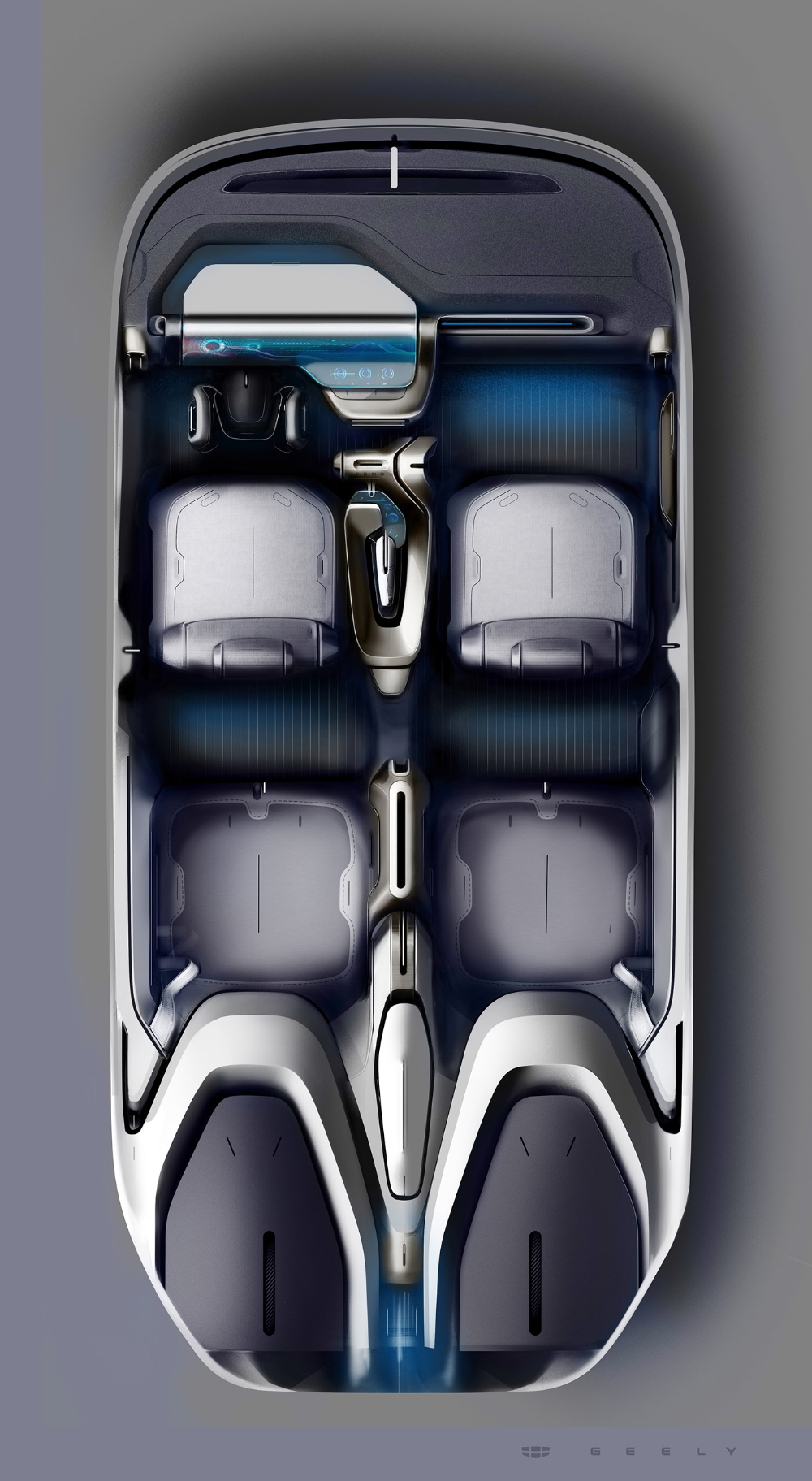 Geely Interior sketches on Behance in 2020 Interior