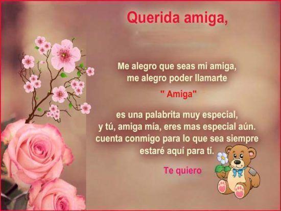 Imagenes De Amor Amistad Y Mensajes Con Frases Bonitas Lindas
