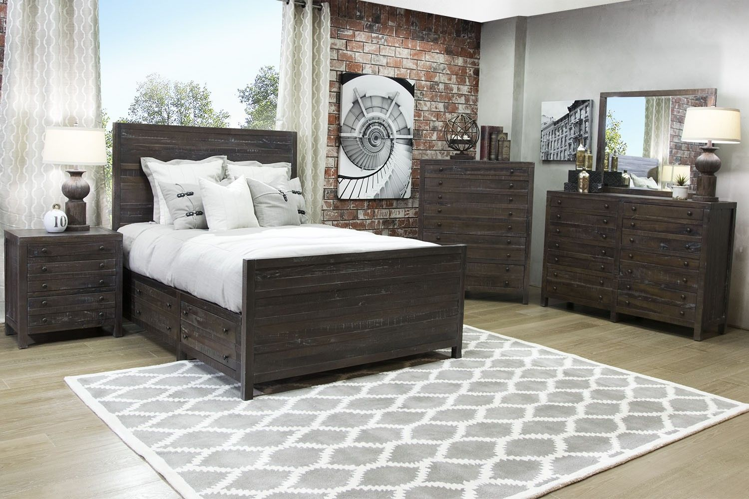 Mor Furniture for Less: Townsend Storage Queen Bed | Mor ...