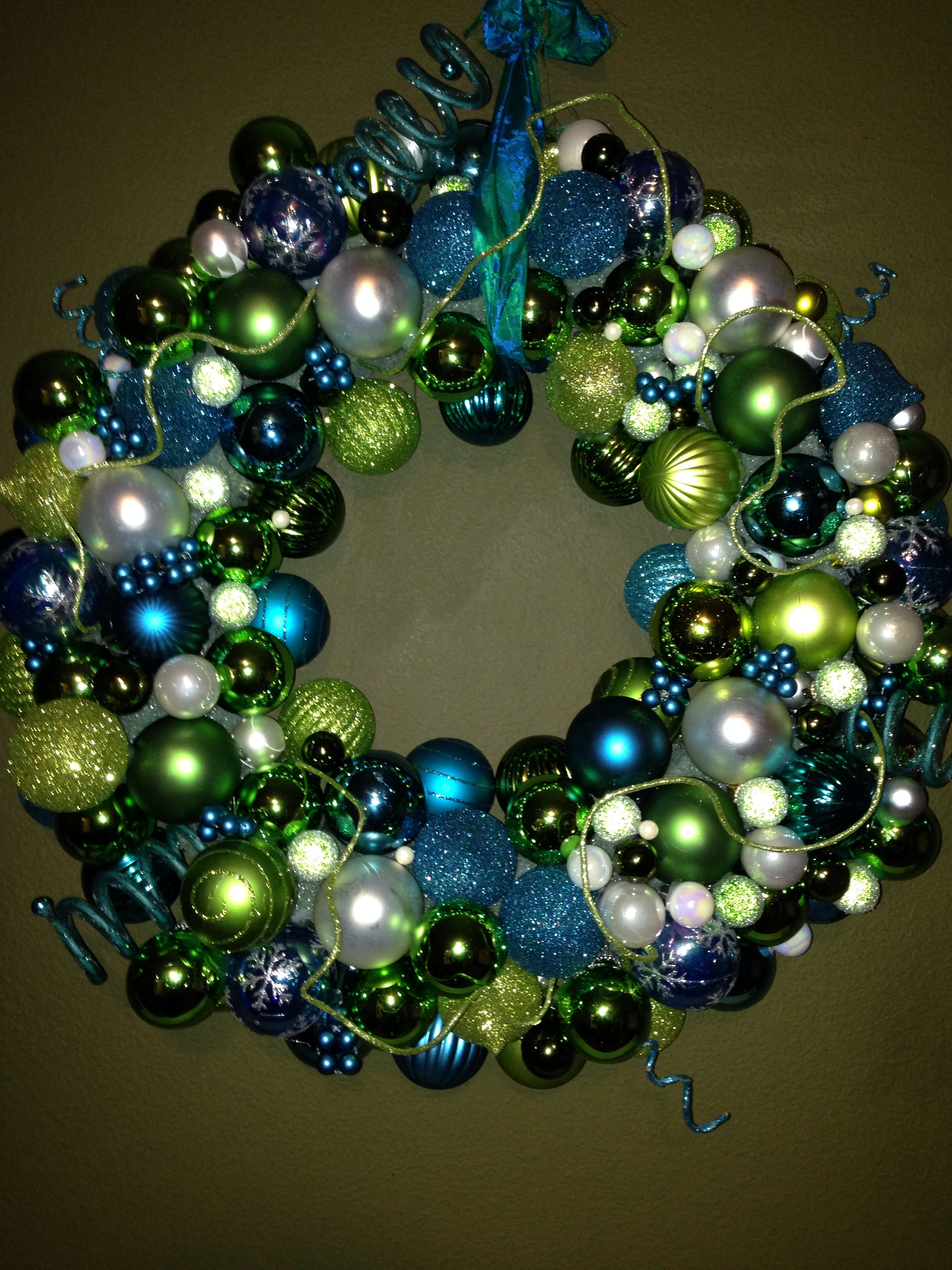 Had To Make A New Wreath With New Colors For A New Chapter