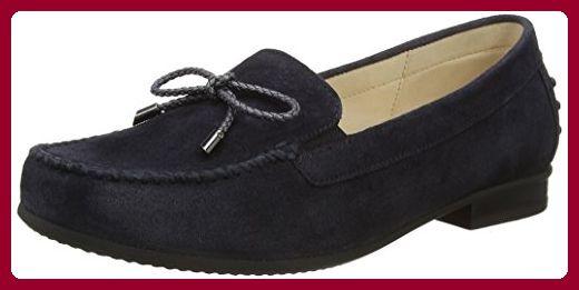 Gabor Shoes Damen Comfort Mokassin, Blau (Ocean 46), 38.5 EU