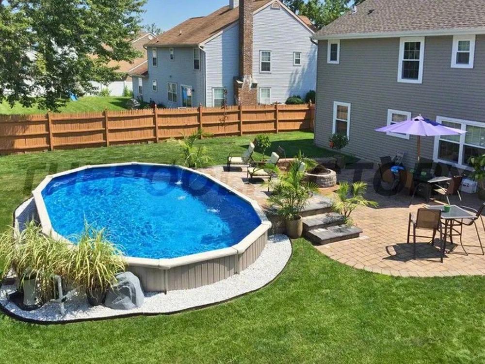 Beautiful Backyard Swimming Pool Design 60 Pool Landscaping
