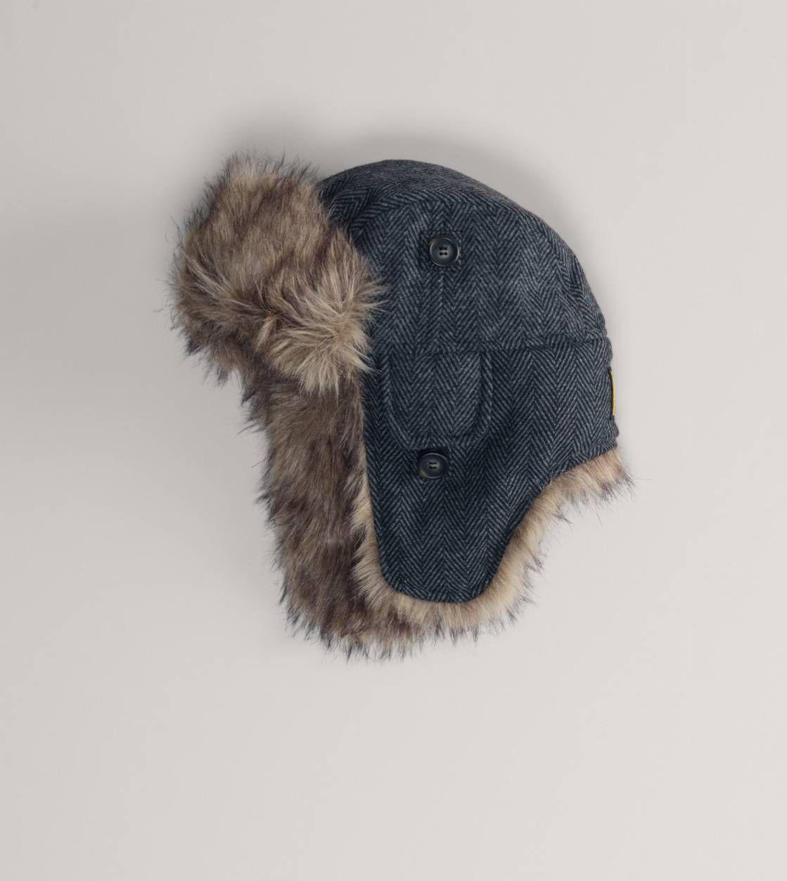 24109bdc91cf1 AEO Plaid Flannel Trapper Hat