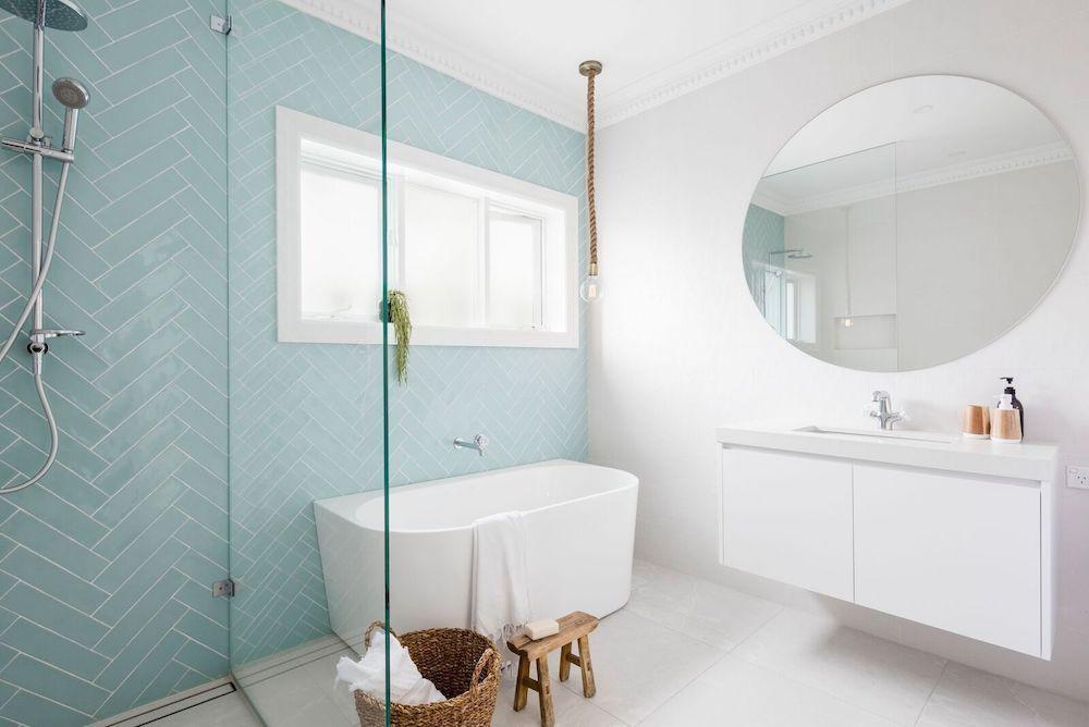 coastal style bathroom