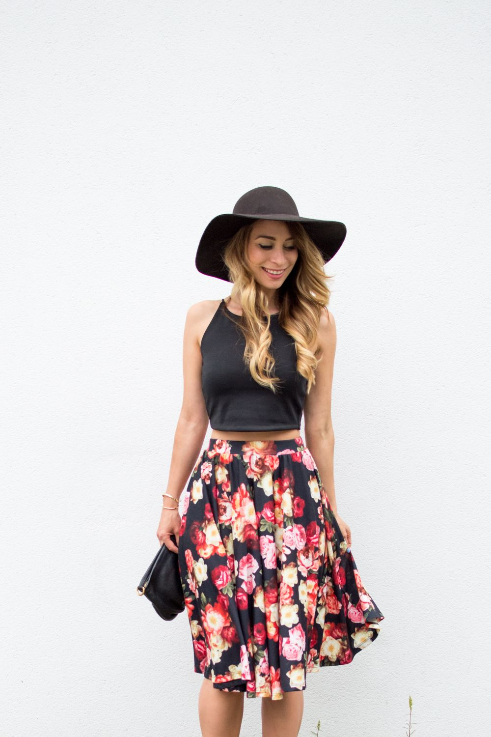 8ea789505 OOTD - Floral Midi Skirt for Summer   Fashion Obsessed   Summer ...