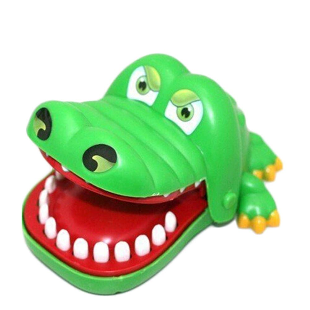 1pc Big Size New In Box Crocodile Mouth Dentist Bite Finger Game Funny Play Kids Gift
