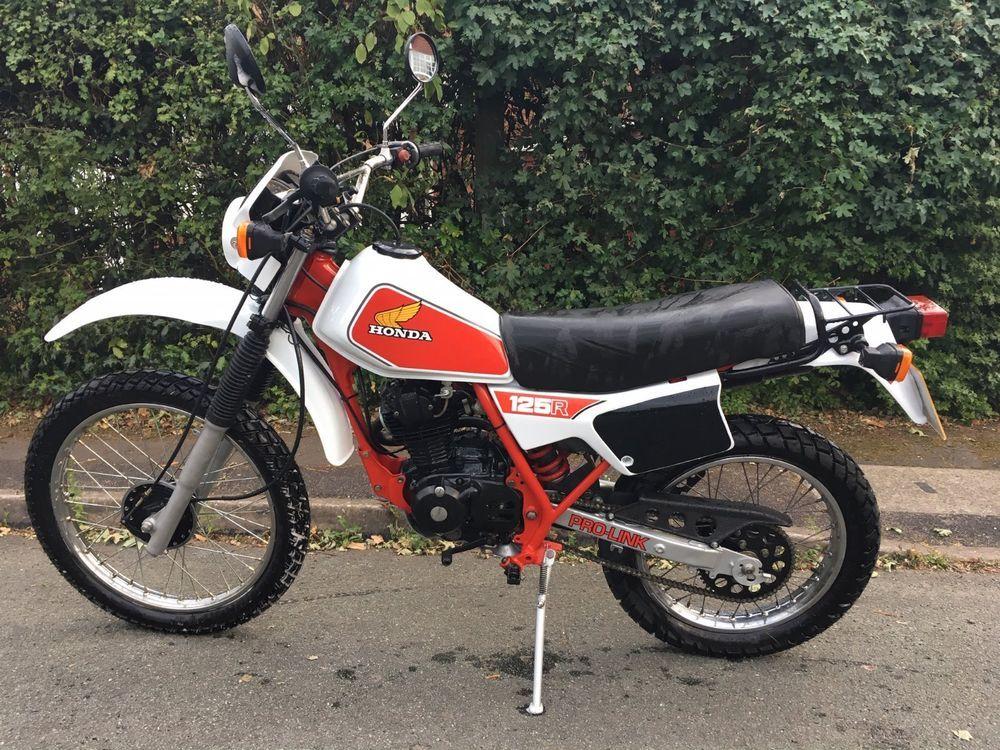 Ebay Honda Xl 125 Rc 1983 Honda Touring Motorcycles Honda Bikes