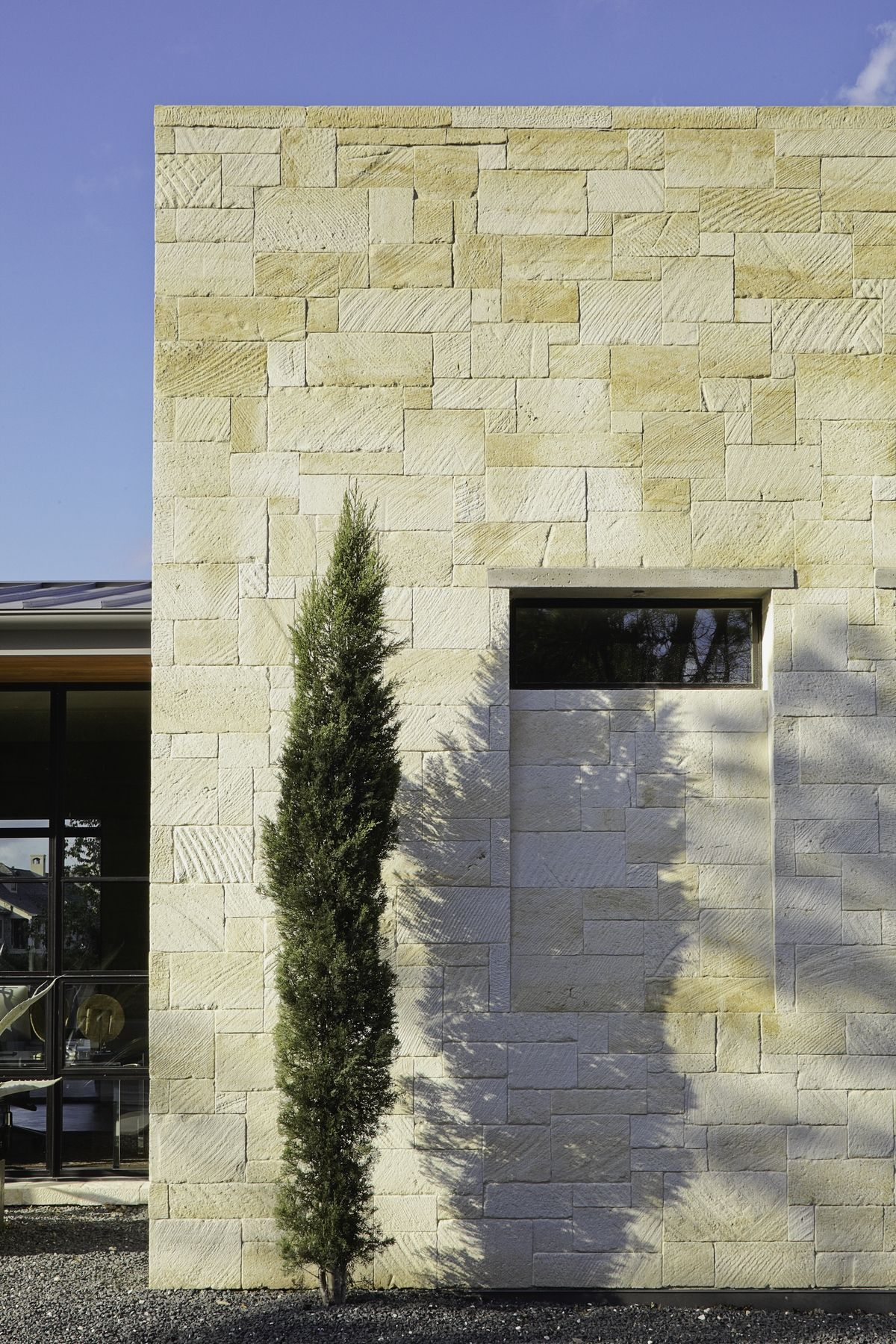 Exterior window design for home  natural materials geometric shapes home cornerstone   exteriors