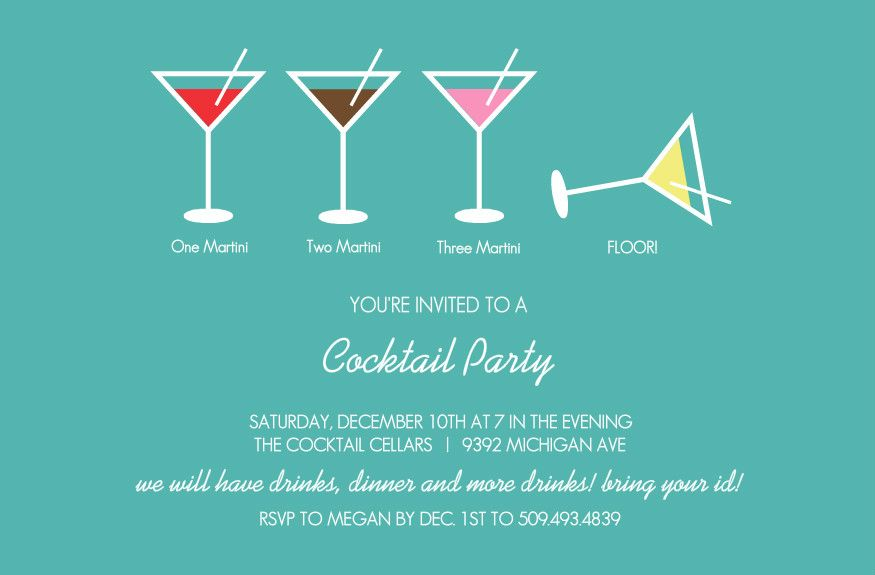 Image Result For Cocktail Party Invite Cocktail Party Pinterest