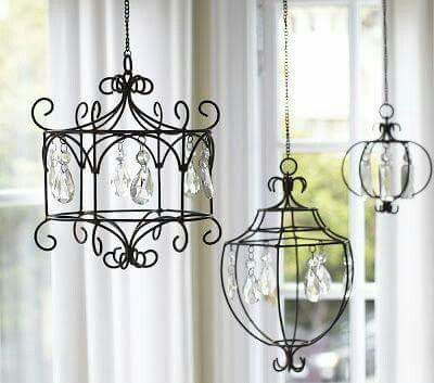 craft metal lighting. Crafty Ideas To Use Wire For Home Decor Projects Pendant Light Chandelier- Husband Will Be Making Me This. Craft Metal Lighting