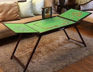 Jigsaw Puzzle Storage Table Portable Organizer Board Folding 1000 Pcs Mat Ft