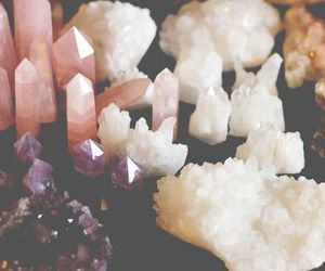 Towers and Clusters of Rose Quartz, Clear Quartz, and Amethysts