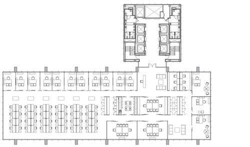 Metal office building floor plans pictures to pin on for Metal building office floor plans