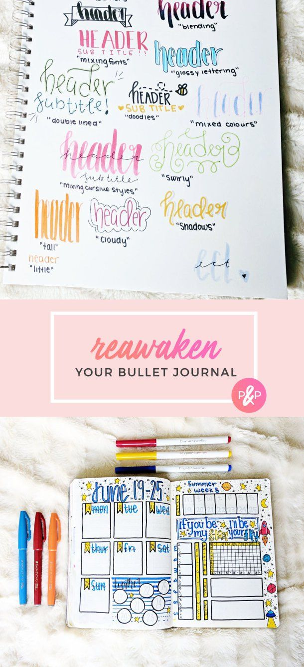 Reawaken your bullet journal bullet journal and journaling