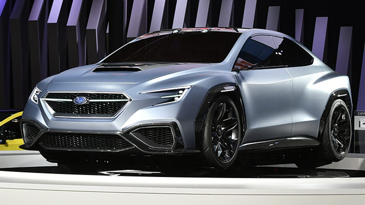Subaru looks at the future of sports sedans with Viziv