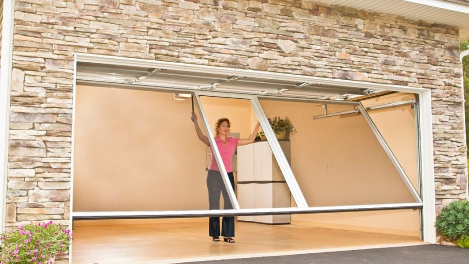 Consider Installing A Garage Door Screen Diy Screen Door Garage Screen Door Diy Garage Door