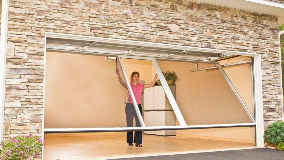 Consider installing a garage door screen garage screen