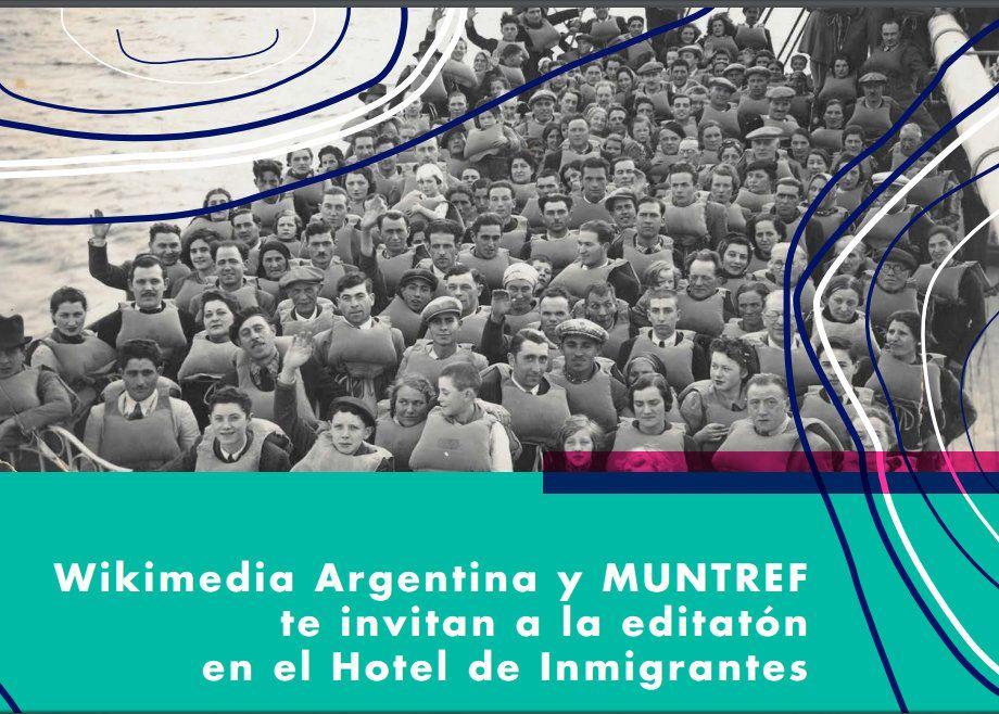 01/07 Editatón en el Hotel de Inmigrantes