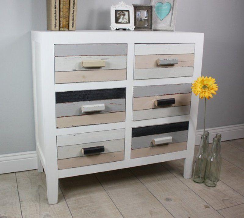 Lovely Kommode Holz Bunt Einrichtungsideen Pinterest Sofa Dan
