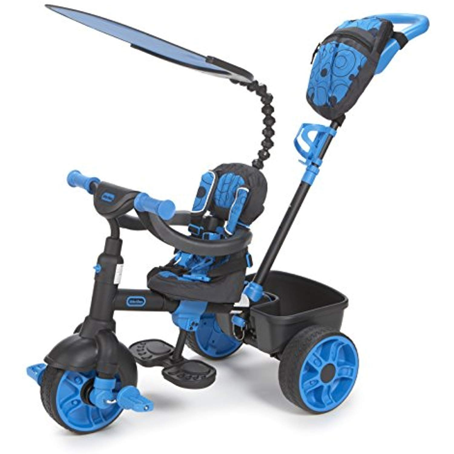 Little Tikes 4in1 Ride On, Neon Blue, Deluxe Edition