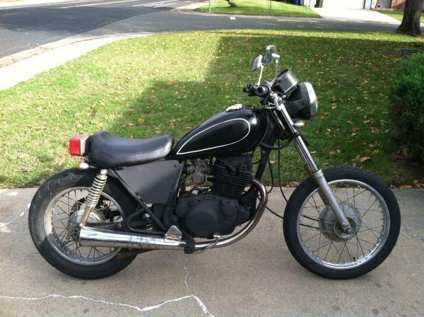 Yamaha Sr250 Bobber 850 Speed Bike Motorcycle Yamaha