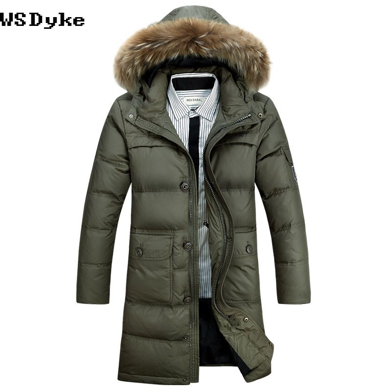 Extra long parka jacket mens