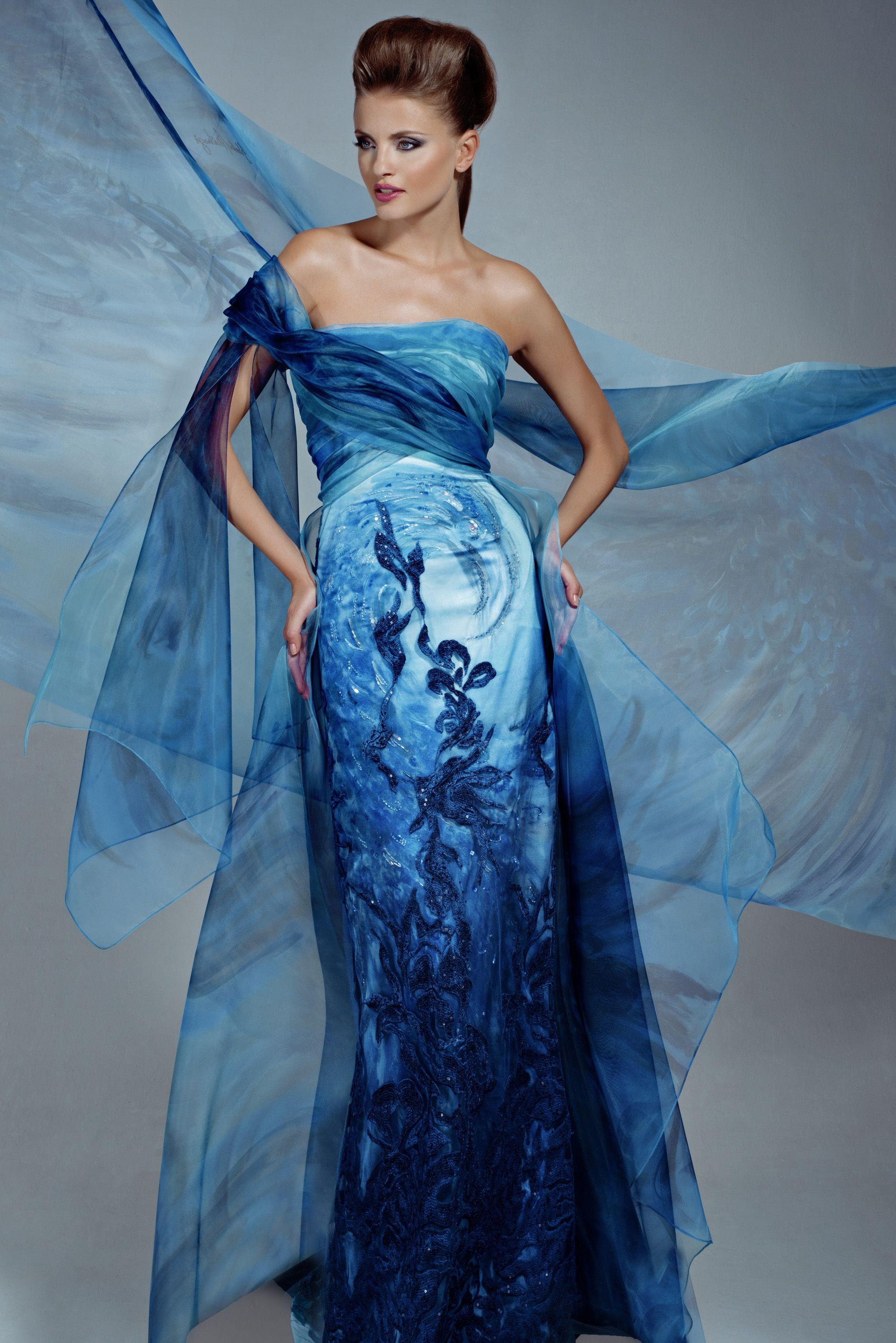 Return of the Phoenix Campaign / Couture dress /Blanka Matragi ...