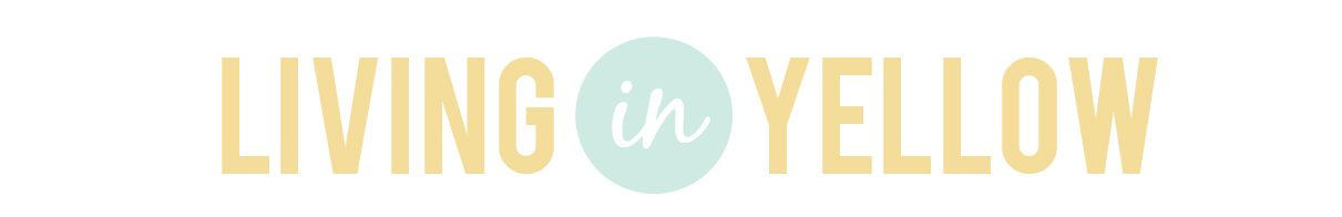 Living In Yellow. Love your blog, @Erin Schrader!