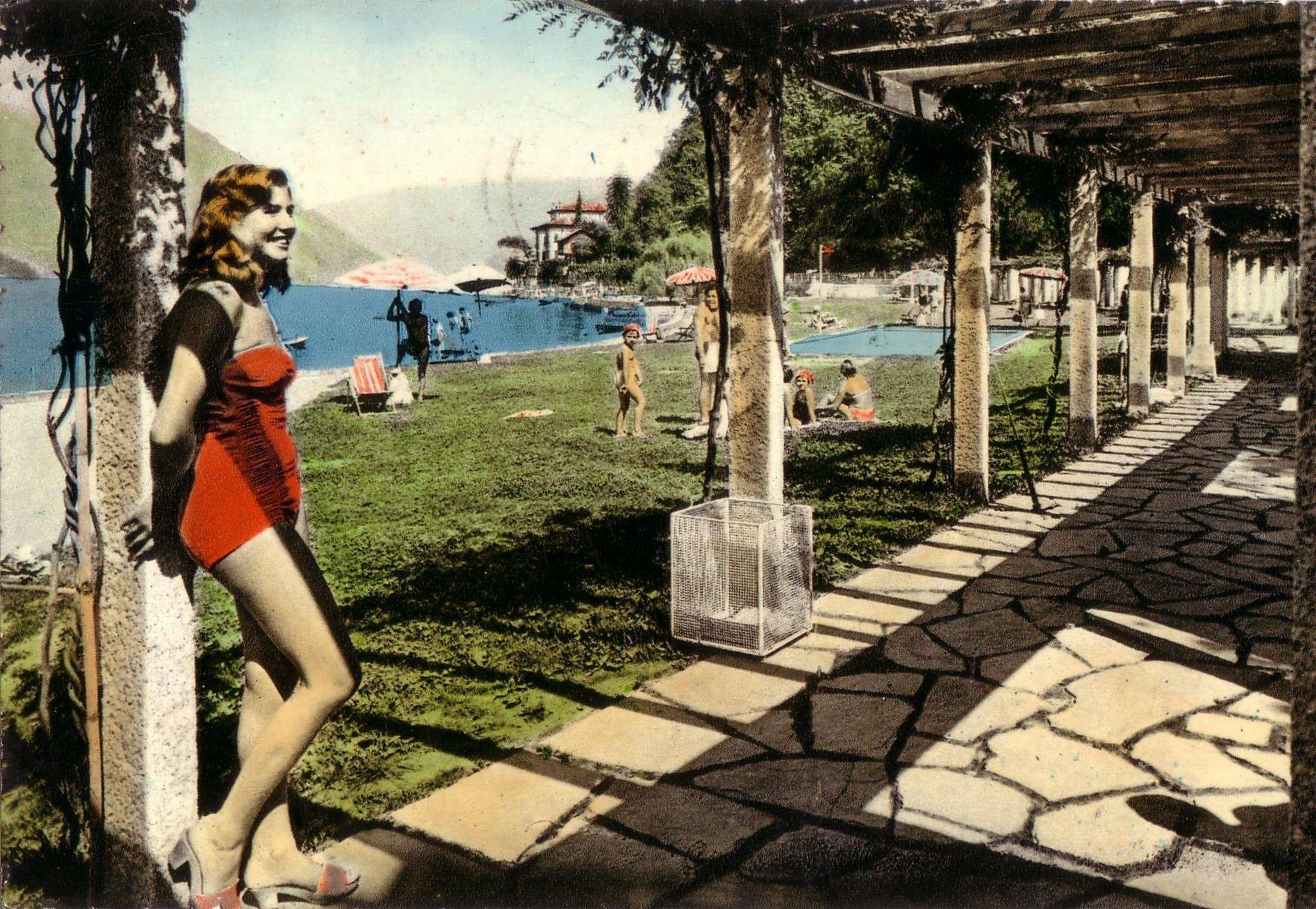 Villa Geno, Como, 1950-1970