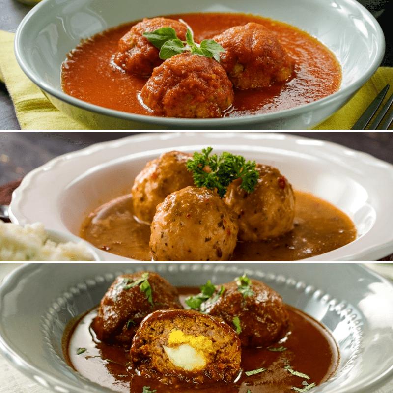 3 Formas De Preparar Albóndigas Albóndigas En Salsa De Chipotle Receta De Albóndigas De Carne Comida