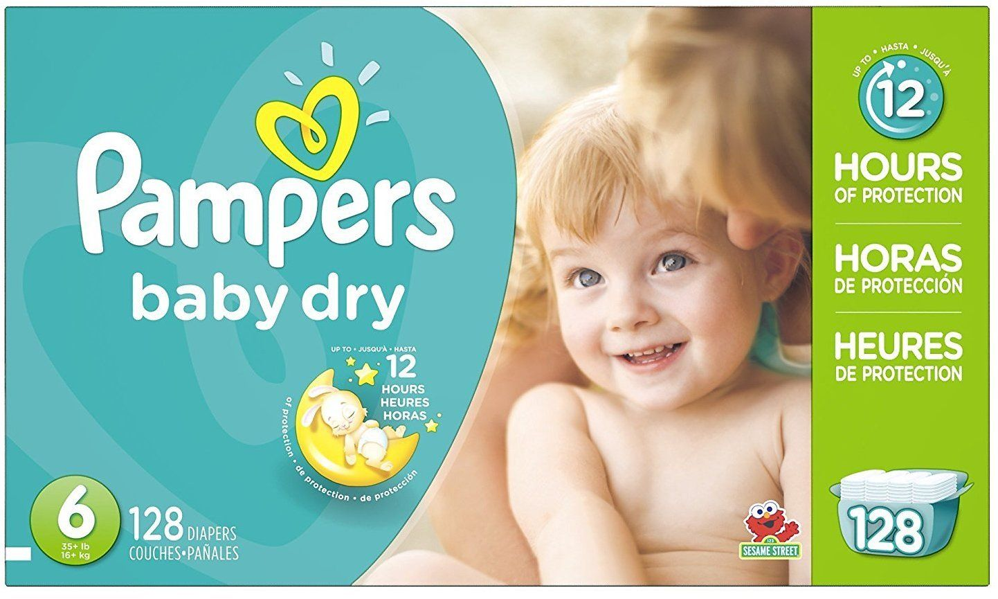 Pampers Baby Dry Diapers Economy Pack Plus Size   Count Health