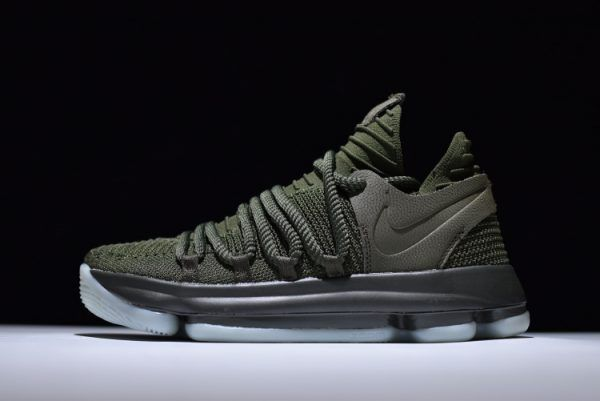 1a9c2efd42ba NikeLab KD 10 NL EP Olive and Cargo Khaki-White For Sale