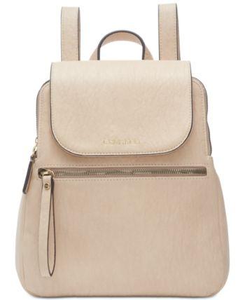 Calvin Klein Elaine Flap Backpack & Reviews Handbags