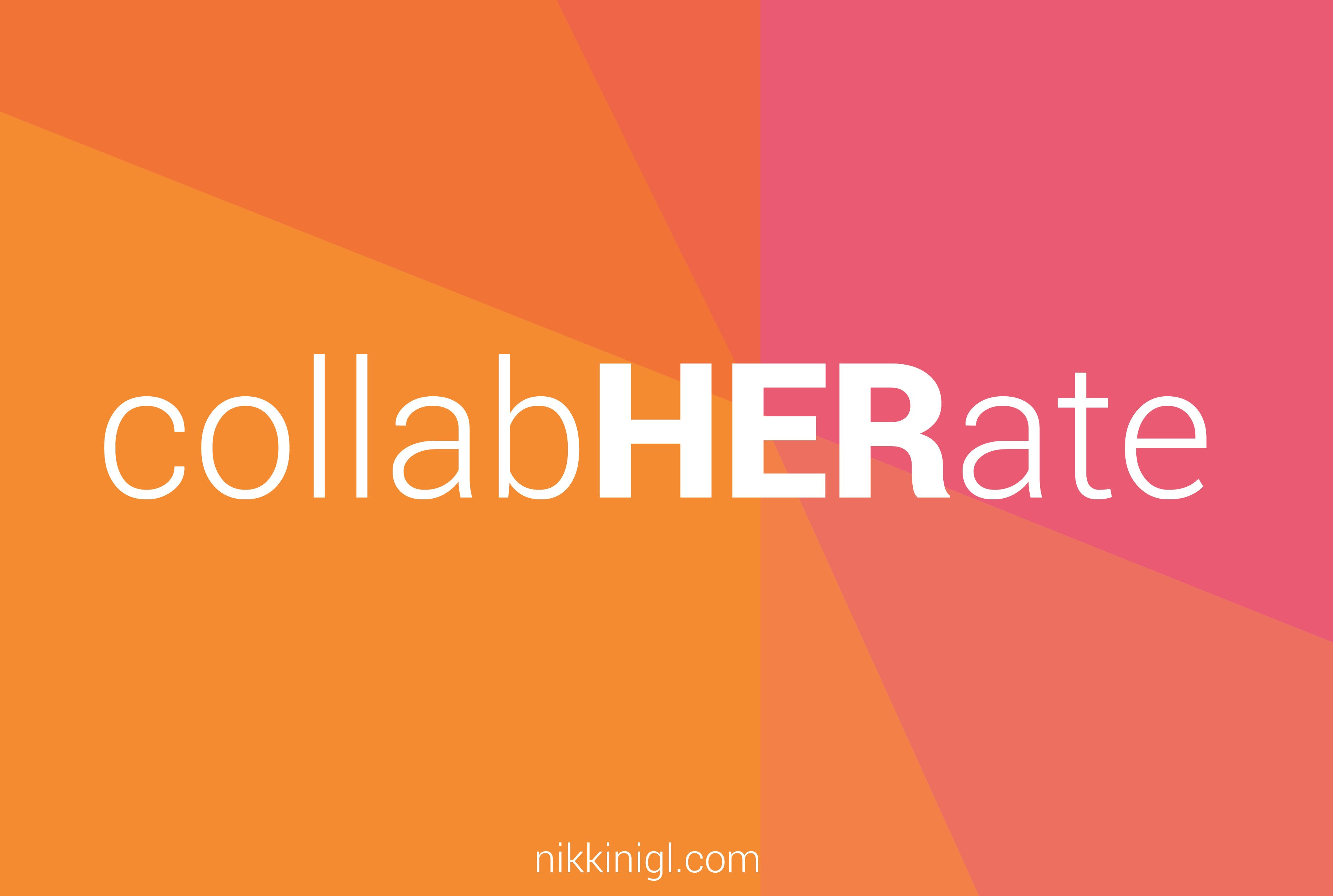 #CollabHERate #WomenUNITE #ABOUTWOMEN