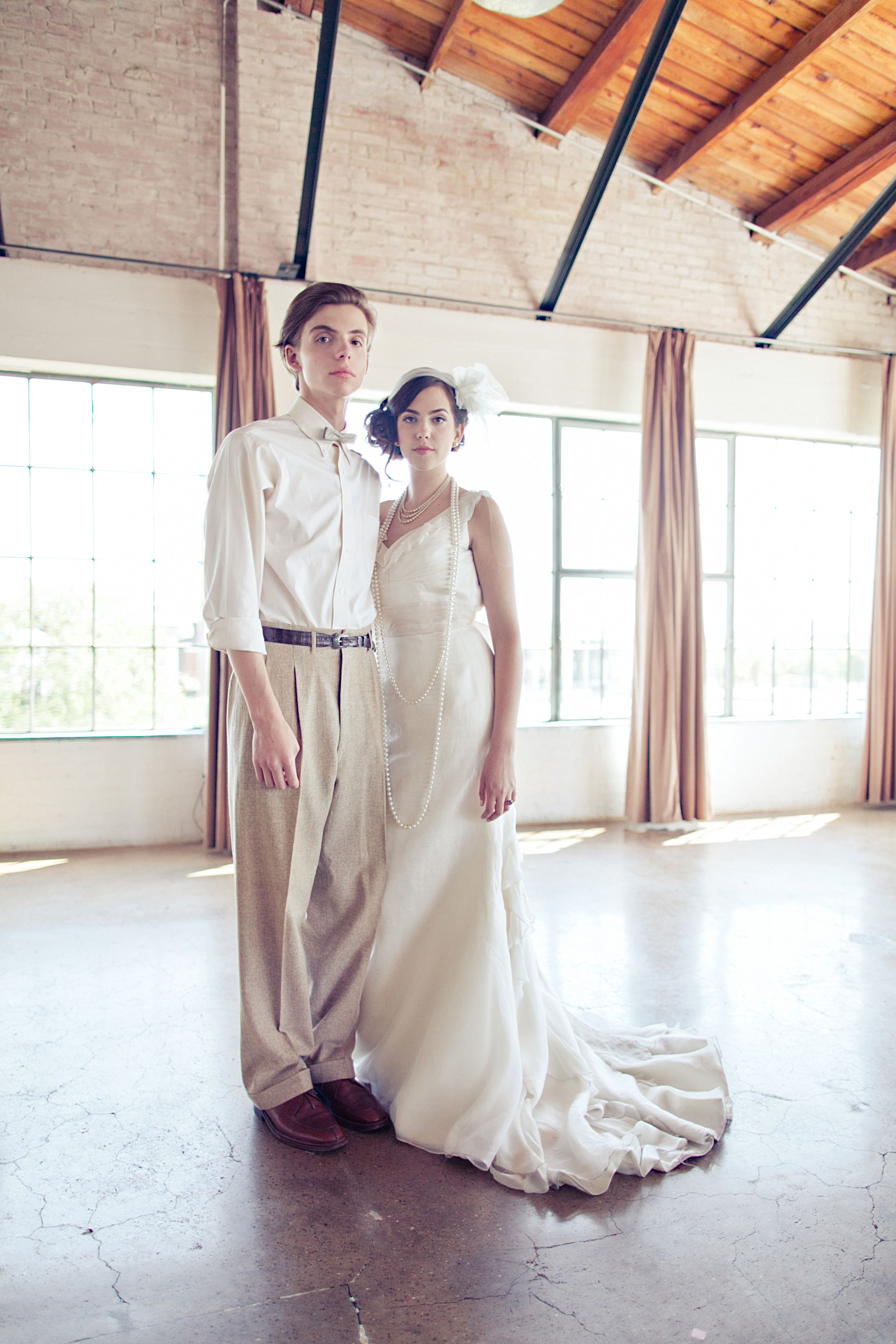 Modern 20s Themed Wedding Frieze - The Wedding Ideas ...